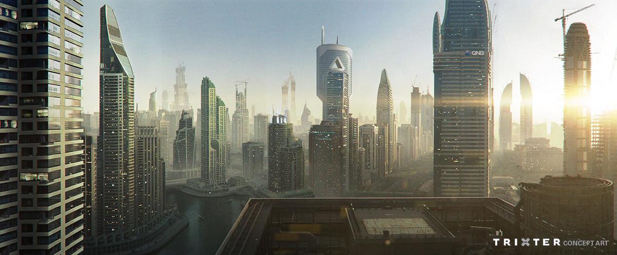 Future Qatar Concept Art