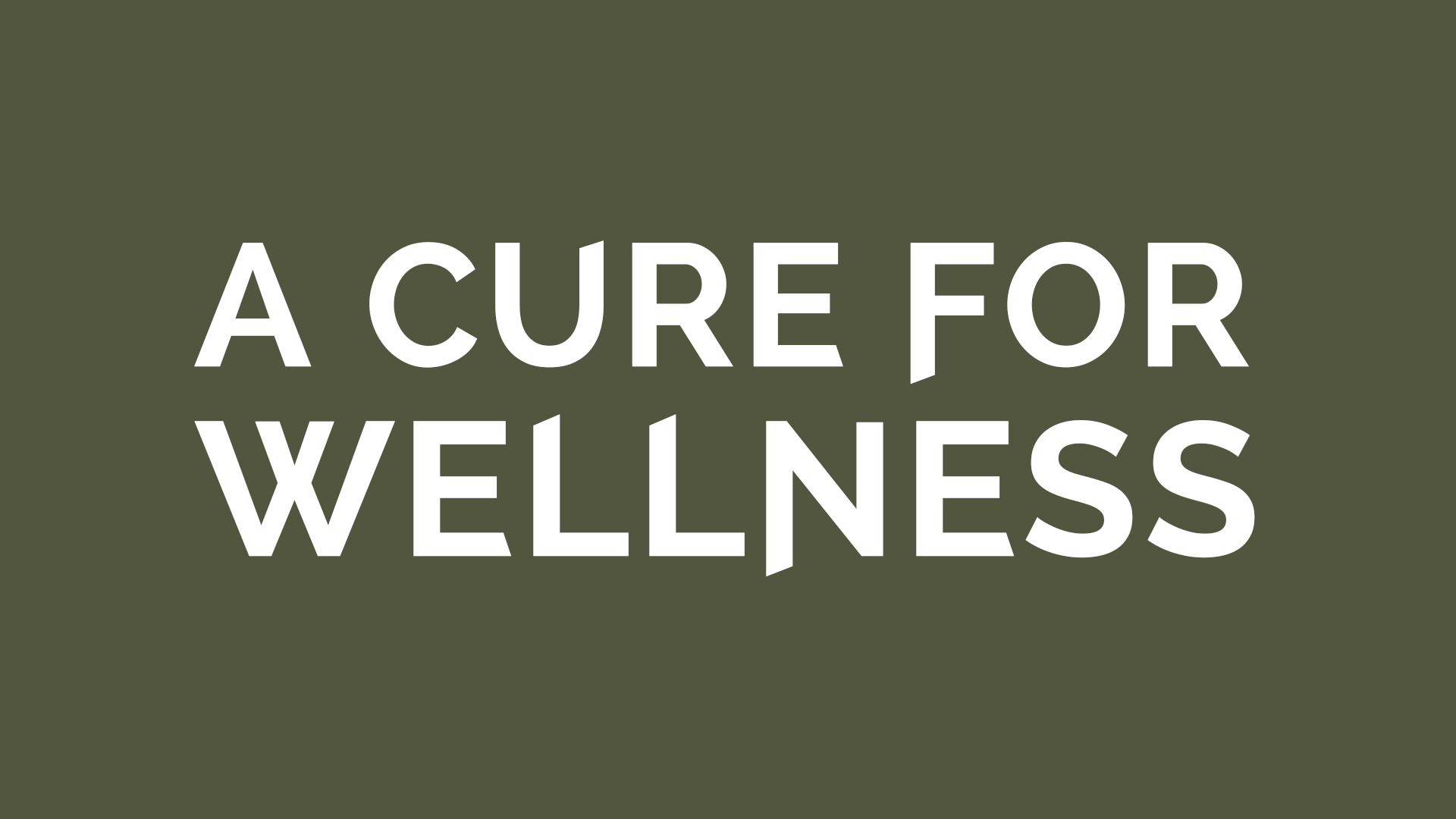 A CURE FOR WELLNESS - Duplicate
